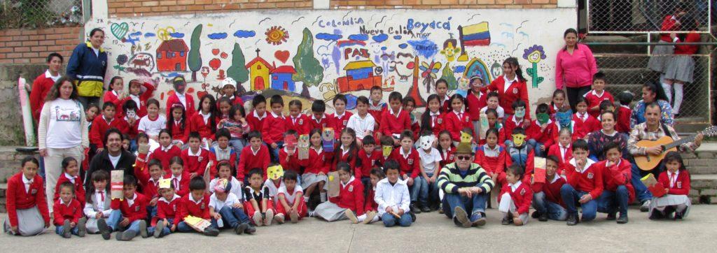 La carreta de los cuentos en Nvo. Colón