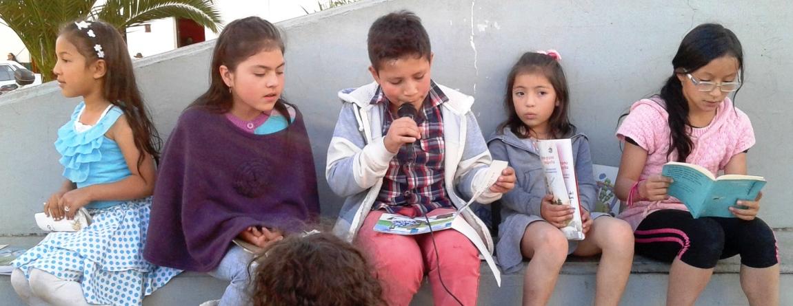 Taller de Literatura en el Parque - Ramiriquí